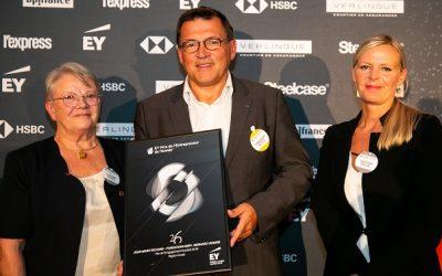 La fondation AMIPI reçoit le prix de l'entrepreneur de l'année Ernst & Young sur l'engagement sociétal