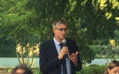 Dîner des membres d'UEDF le 1.07.19 avec Monsieur Olivier Noblecourt