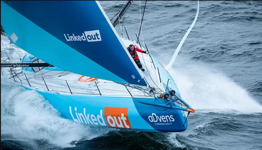 La course au changement du bateau LinkedOut